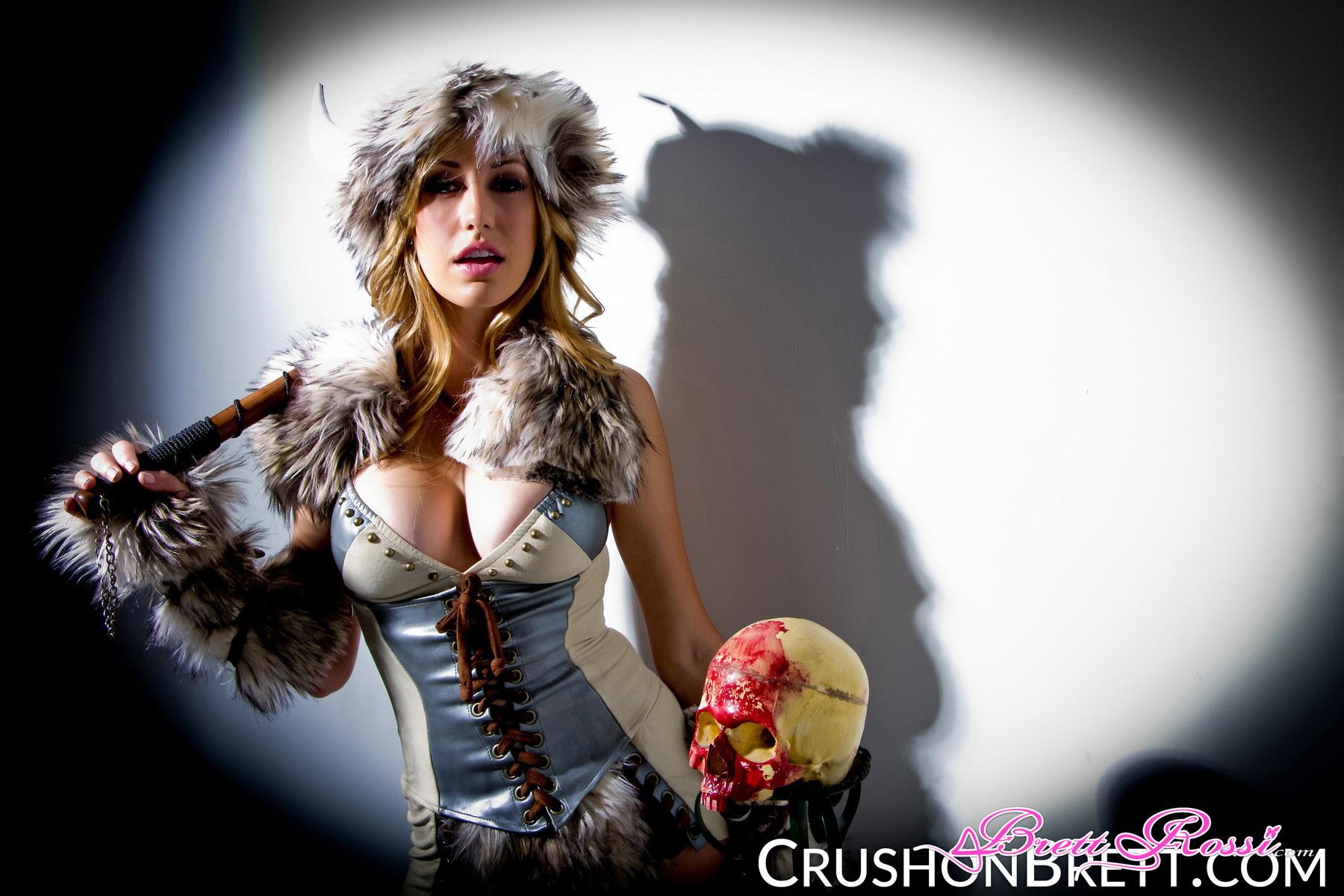 Brett Rossi Viking cosplay nude