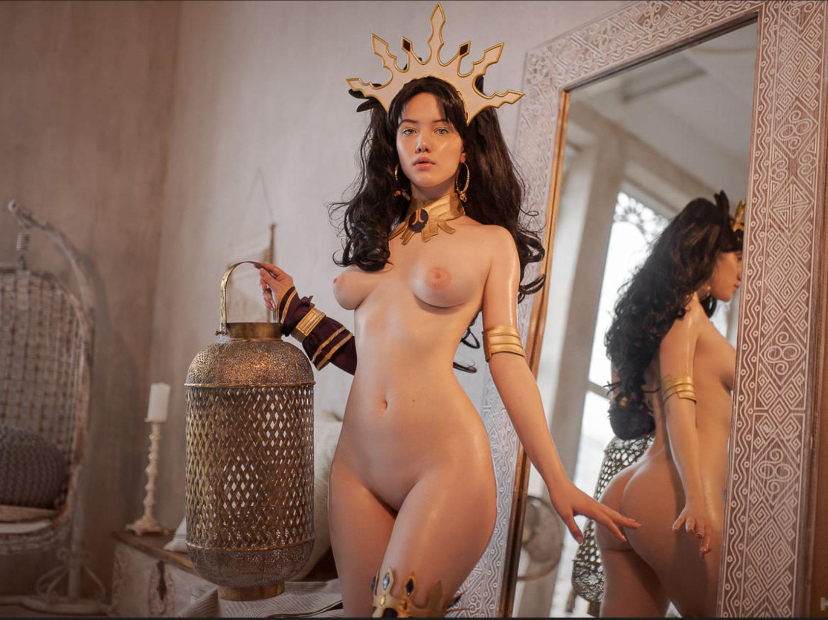 Lada Lyumos nude cosplay as Ishtar