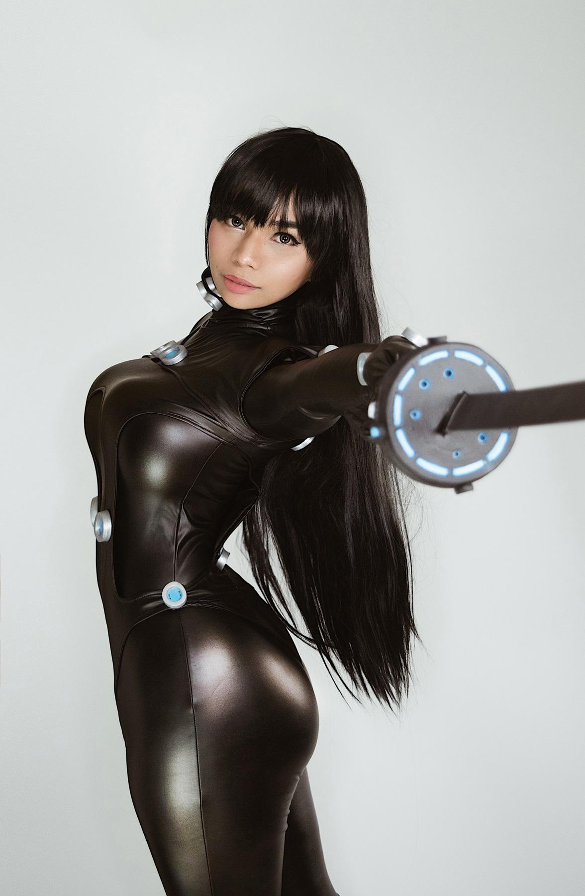 Nami Oh Yeah as Reika Gantz cosplay