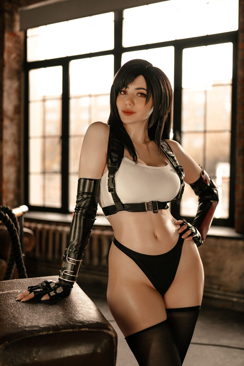 alina becker cosplay tifa lockhart final fantasy 1